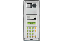 Sinthesi Steel is style designed for security. The new Urmet entry panel features advanced vandal resistant protection, as well as its typical operating versatility.  Its polished steel body with ush elements dramatically reduces the possibility of tampering. ...
