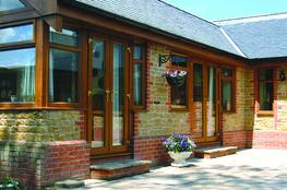 PVCu French doors image