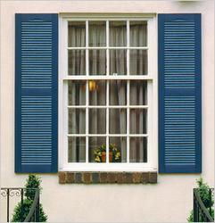 Decorative Louvre Window Shutters image