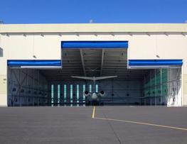 Aircraft Hangar Doors image