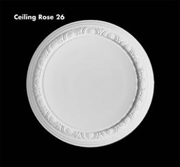 small ceiling rose range - UK Home Interiors
