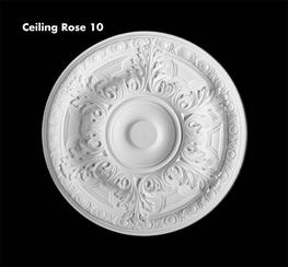 medium ceiling rose range - UK Home Interiors