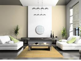 contemporary ceiling roses - UK Home Interiors