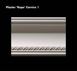 fibrous plaster cornice & coving image