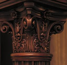 corinthian columns & corinthian pillars image