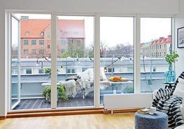 PVC balcony glazing image