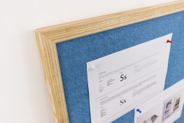SUNDEALA FR NOTICE BOARD | Fire-Rated Notice Board with Wood Frame image