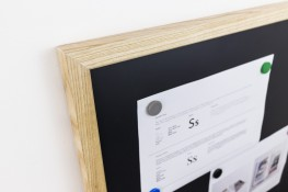 SUNDEALA VES CHALKBOARD | Magnetic Chalkboard with Aluminium or Wood Frame image