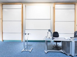 TB SPACES VES COLUMN BOARD| Vertical Sliding Magnetic Whiteboard or Chalkboard Writing Board - SUNDEALA
