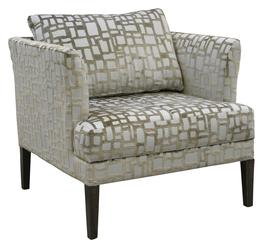 Angus Lounge Chair - Quilted Seat image