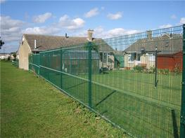 The Athena Mesh Fencing System benefits from variable wire spacings and three horizontal profiles which makes it difficult to climb. The mesh panels are 3 metres wide which reduces the number of posts required and therefore makes the Athena Mesh Fencing System...