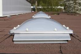 They are available in an extensive range of over 140 sizes, and a range of shapes and glazing options to suit virtually any requirement. Em-Dome roof lights are tested to the highest standards and are suitable for use on most flat roofs.  They are normally sp...