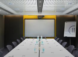 With a large range of perforation designs and finishes, our Perforated Acoustic Panels give you great creative scope when designing functional spaces.  Produced to your exact dimensions in our factory-applied finishes, our Perforated Acoustic Panels arrive on site ready to install, needing no on-site cutting or finishing.  Our ability to produce in bespoke sizing, finishes and patterns mean gives you the ability to create the aesthetics and atmosphere that is so important to your interior's success.