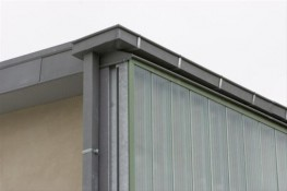 A fully soldered zinc rainwater and drainage solution....