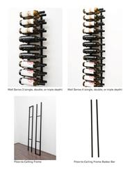 Floating Wall Wine Rack Kit (Single-Sided) image