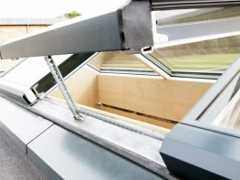 The development of A98, which is based on A74, has resulted in a series of unique features. With A98 having a U-value of just 0.79 W/m²K we have created the most sustainable glass roof system available.   The slim frames and shallow profiles combined with a...