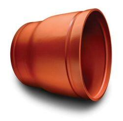 Pressure rated to conform to the pressure ratings of Victaulic Style W77/W07 AGS couplings. Supplied with AGS grooves to permit fast installation without field preparation. Advance Groove System (AGS) products must not be used to join original groove system (O...