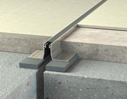 Frame and seal expansion joints for floors, walls and ceilings....
