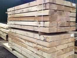 Fresh Sawn Sleeper Grade European Oak image