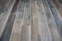 UN102 Oak Rustic Wharf Grey, Hand Finished, Stained & UV Oiled image
