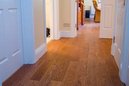 EP103 Oak Rustic Golden Stained, Brushed & UV Oiled image