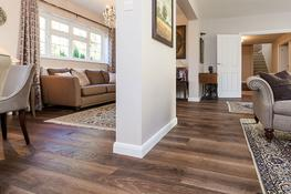 UN105 Oak Rustic Tannery Brown, Hand Finished, Stained & UV Oiled image