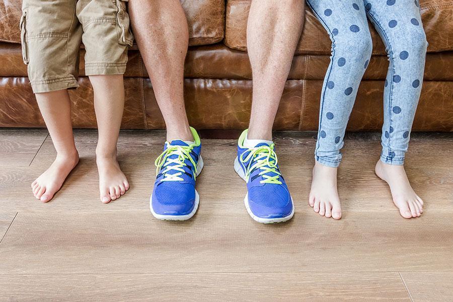 Sciatic nerve location leg sciatica kidney for Hardwood floors hurt feet