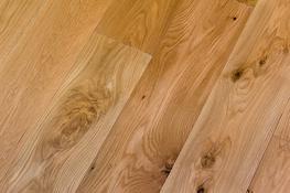 VIT103 Oak 190 Rustic UV Oiled Bevelled Plank image