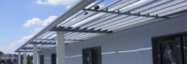 Solex LINEAR Solar Shading System image