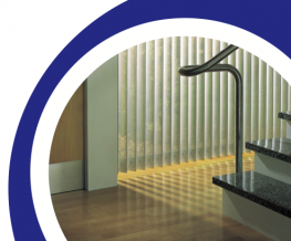 The Opal Olympian System 1200 vertical blind offers a solution to the commercial sector which requires little maintenance and will consistently give an elegant look to any room or area. Vertical blinds can be installed to the majority of windows and all are ma...