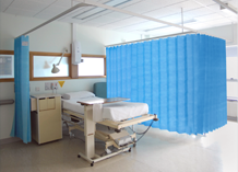 Opal Disposable curtains are the quick, efficient and hygienic alternative to traditional cubicle curtains. Designed to fit the vast majority of existing tracks, this robust product is easy to fit, easy to change and easy to pull round whilst offering higher p...