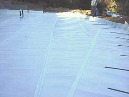 Recycled polyethylene damp proof membrane.   VOLSHEET DPM is a 1200 gauge / 300 micron recycled polyethylene damp proof membrane for use in low risk / non-hydrostatic conditions, providing some basic gas-barrier properties in line with recommendations from the...