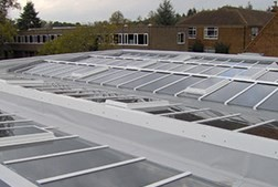 Custom-built Ritchlight mono and dual pitched skylights are a popular choice for bringing natural daylight into buildings. These sloped rooflights, with a minimum 15° pitch, are widely specified for schools, public buildings, retail developments and homes, bo...