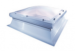 Mardome Trade is the standard specification dome unit in the Mardome dome rooflights range. Providing stylish, contemporary looks as standard and excellent insulation, triple skin Mardome Trade rooflights achieve a centre pane U-value of 1.8 W/m²K with option...