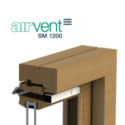 airvent SM 1200 Surface Mounted Window Vent - Brookvent