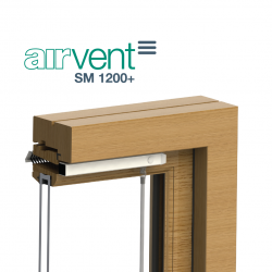 airvent SM 1200+ Surface Mounted Window Vent - Brookvent