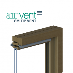 airvent SM TIPVENT - Plastic Surface Mounted Window Vent - Brookvent