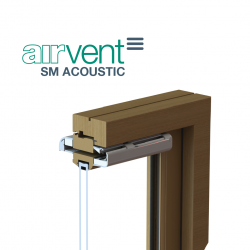 airvent SM ACOUSTIC Surface Mounted Window Vent image