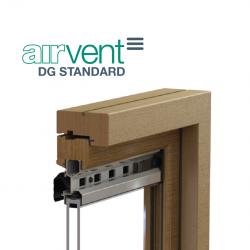 airvent DG Standard Glazed In Window Vent - Brookvent
