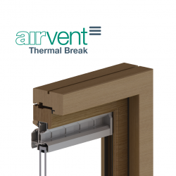 airvent Thermal Break Glazed In Window Vent image