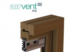 airvent PD - Patio Door Glazed In Window Vent - Brookvent