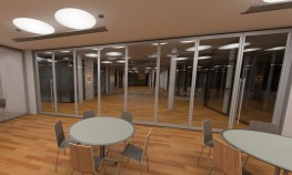 InVista™ Clear View Acoustical GlassWall - Hufcor, Inc.