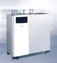 MGK is available in 5 boiler sizes covering a modulated and regulated range of powers from 23 to 294 kW. Combustion with extremely low pollutant emissions, and a high-performance heat exchanger made of tough aluminium-silicon alloy combine a long service life ...