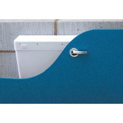 Bergamo Concealed High Lever Plastic Lever Cistern image