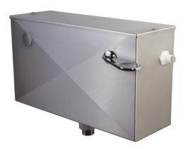 Zaragoza Stainless Steel Cistern Lever Flush image