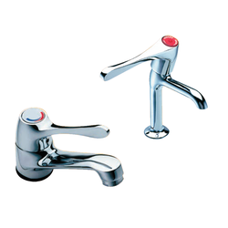 Eden cranked bridge mixer tap for Corsica image