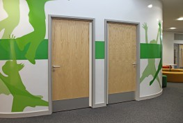 Ahmarra Education Range of Doorsets image