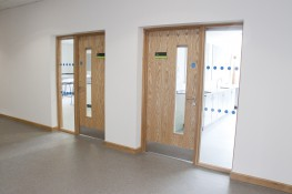 Ahmarra Education Range of Doorsets - Ahmarra Door Solutions Ltd