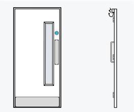TYPE 01 - Education Doorset image