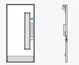 TYPE 02 - Education Doorset image